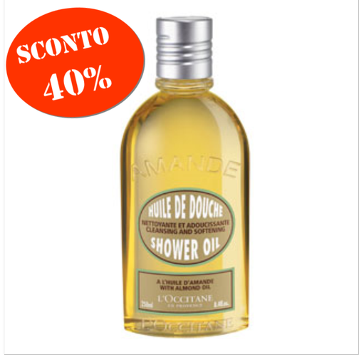 L'OCCITANE - Shower oil - Amande 250 ml