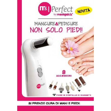 MQ PERFECT - Manicure & Pedicure - 8 Adaptors