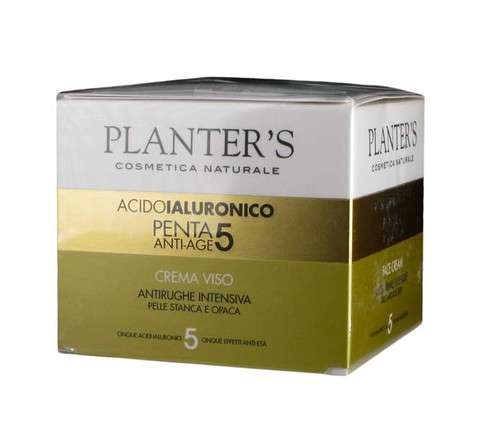 PLANTER'S - Acido Ialuronico - Penta 5 Anti-age - Crema Viso - 50ml
