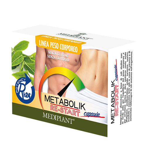 MEDIPLANT - Metabolik Re-Start - Integratore alimentare in capsule - A927286942