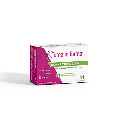 MEDIPLANT - Torna in forma - Donna total body - 30 compresse - A926216096